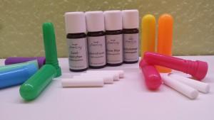 Inhalierstifte mit Duftmischungen